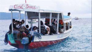 Boat to Gili Trawangan 1