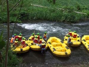 Rafting Telaga Waja 2